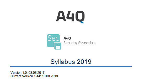 a4q security essential syllabus